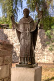 The statue of St. Nicholas in Demre, Turkey Royalty Free Stock Photo