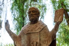 The statue of St. Nicholas in Demre Turkey Stock Photo