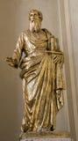 Statue of st. Paul apostle. St. Paul apostle from Vienna church - Lichtenthaler Pfarrkirche Royalty Free Stock Photos