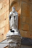 Statue of St Paul, Bugibba. Stock Photography