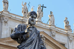 Statue of St. Peter Royalty Free Stock Image