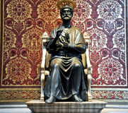 Statue of St. Peter. Vatican. Royalty Free Stock Photo