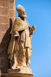 The statue of St. Publius on the corner of the Customs House at Stock Photography