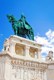 Statue of St. Stephen, Budapest Royalty Free Stock Images