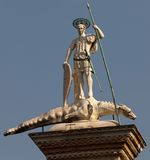 Statue of St Theodore Stock Image
