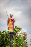 Statue of St. Thomas the apostle Stock Photography
