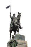 Statue of St. Vaclav Royalty Free Stock Images