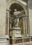 Statue of St Veronica & the Veil at St. Peter`s Basilica