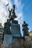 Statue of St. Wenceslas in Prague Royalty Free Stock Photos