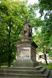 Statue of St. Wenceslas at Vysehrad Royalty Free Stock Photography