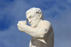 Statue at stadio dei marmi, Rome, Italy Royalty Free Stock Photography