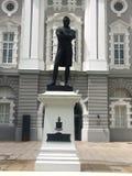 Statue of Stamford Raffles Stock Photo