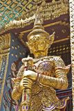 Statue. S in Temple bangkok thailand Stock Photo