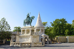 Statue of Stephen I of Hungary,  Budapest Royalty Free Stock Photos
