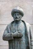 Statue of Suleiman the Magnificent, Edirnekapi, Istanbul, Turkey Stock Images