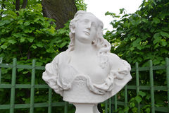 Statue in Summer Garden. Stock Photos