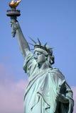 Statue supérieure de liberté Photographie stock libre de droits