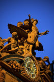 Statue sur le central grand Image stock