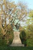 Statue of Svatopluk Cech Stock Images