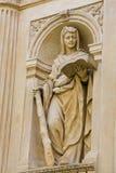 Statue of a Sybil at Prague Loreta Stock Image