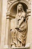 Statue of a Sybil at Prague Loreta Royalty Free Stock Photography