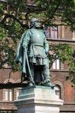 Statue of Szondy Gyorgy stock photos