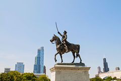 Statue of Tadeusz Kosciuszko Stock Images