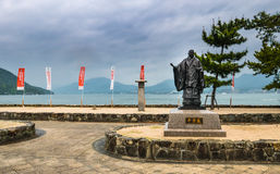Statue of Taira No Kiyomori Stock Photo