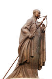 A statue of Tang Priest Royalty Free Stock Photos