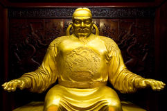 Statue of Tang Tai Zong Royalty Free Stock Photos