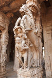 Statue in tempiale indù Fotografie Stock