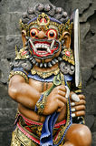 Statue in temple bali indonesia Royalty Free Stock Photos