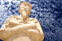 Statue at Temple of Queen Hatshepsut Royalty Free Stock Images