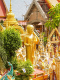 Statue Temple Thailand. UBON RATCHATHANI, THAILAND - July 14: Temple Thailand Stock Image