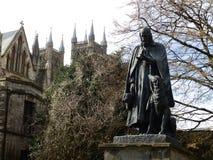Statue of Tennyson Stock Photography
