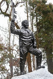 Statue of Tenzing Norgay Royalty Free Stock Photography