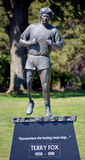 Statue of  Terry Fox Stock Images