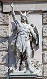 Statue of a Teuton Royalty Free Stock Images