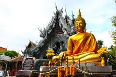 Statue thaïe de Bouddha Images stock