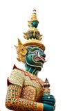 Statue thaïe de type de Tosakan Images libres de droits