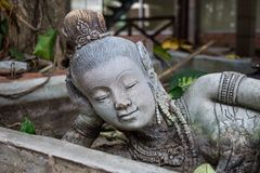 Statue thai. In stock image