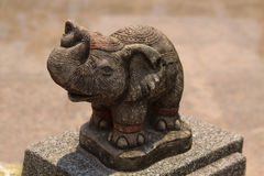 Statue of Thai elephant. The statue of Thai elephant Royalty Free Stock Photos