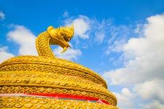 Gold dragon Royalty Free Stock Photo