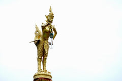 Statue. The statue in Thai temple Royalty Free Stock Image