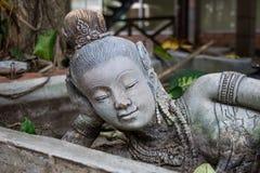 Statue thailändisch Stockbild