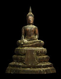 Statue Thailand-Buddha Stockfoto