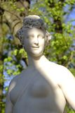 Statue of Thalia, muse of comedy. Royalty Free Stock Photography