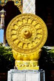 Statue of the Tham-ma-jak Stock Image
