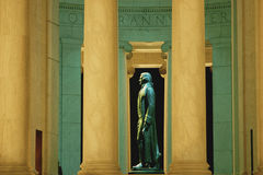 Statue of Thomas Jefferson Stock Photography