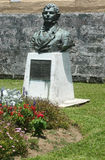 Statue of Thomas Moore at Bermuda. Royalty Free Stock Photo